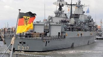 Tàu hộ vệ tên lửa Bayern của Đức tiến vào Biển Đông