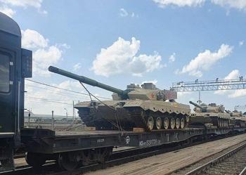 Tuyển Trung Quốc đưa loạt xe tăng chủ lực đến Nga dự thi Army Games 2021