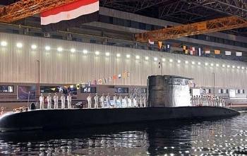 Hải quân Ai Cập được bổ sung tàu ngầm S44 hiện đại của Đức