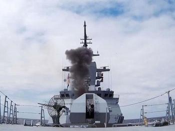 Nga giới thiệu hệ thống đánh chặn trên hạm Resource có thể chặn mọi loại tên lửa
