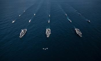 Hải quân Mỹ tổ chức diễn tập quy mô lớn kéo dài 2 tuần và trên 17 múi giờ