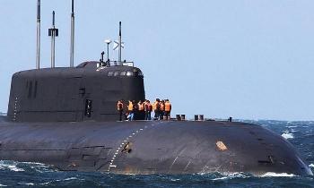 Siêu tàu ngầm hạt nhân Nga hỏng động cơ, trôi dạt trong lãnh hải Đan Mạch