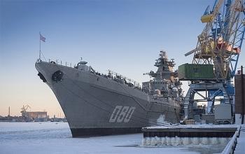 Tuần dương hạm Đô đốc Nakhimov đầy uy lực của Nga sắp trở lại