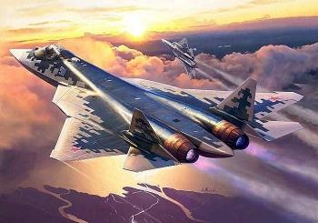 Hé lộ hình ảnh về thiết kế của Su-57 phiên bản đặc biệt