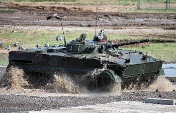 Hạm đội Nga sẽ được trang bị xe chiến đấu bộ binh BMP-3F siêu 'khủng'