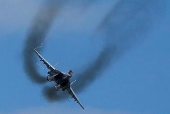 Máy bay Afghanistan đâm vào MiG-29 Uzbekistan trên đường tháo chạy
