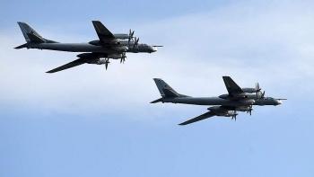 Máy bay Tu-95MS Nga bay suốt 9 giờ trên Biển Nhật Bản