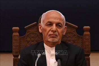 UAE xác nhận Tổng thống Afghanistan đang ở quốc gia vùng Vịnh