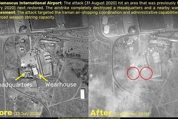 Bí ẩn vụ tên lửa Israel rơi sát vị trí Nga đóng quân ở Syria