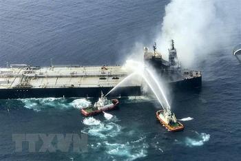 Sri Lanka thông báo đã dập tắt hoàn toàn đám cháy trên tàu chở 2 triệu thùng dầu