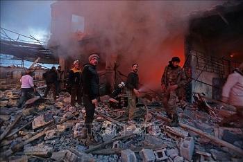 Ô tô chứa bom phát nổ tại miền Bắc Syria, ít nhất 7 người thiệt mạng