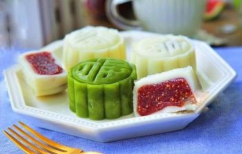 Cách làm bánh trung thu dẻo nhân mứt hoa quả thơm ngon, ngọt ngào vô cùng hấp dẫn