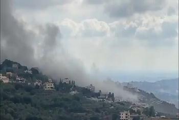Lại xuất hiện vụ nổ cực lớn làm rung chuyển kho vũ khí tại phía Nam Lebanon