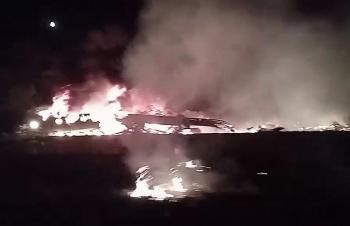 Video hiện trường máy bay không quân Ukraine rơi khiến 27 người thiệt mạng