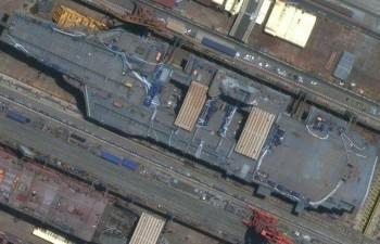Hình ảnh về tàu sân bay thứ ba của Trung Quốc bị rò rỉ?