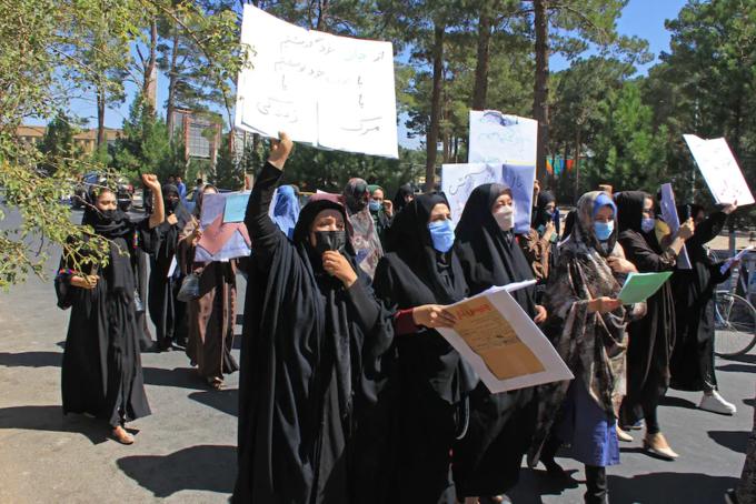 CNN xác nhận nhóm phụ nữ biểu tình ở Kabul bị Taliban đánh đập