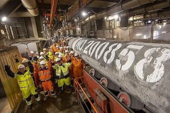 Nga hoàn tất lắp đặt đường ống Nord Stream 2