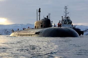 Tàu ngầm hạt nhân Nga diễn tập diệt tàu sân bay ở Bắc Cực