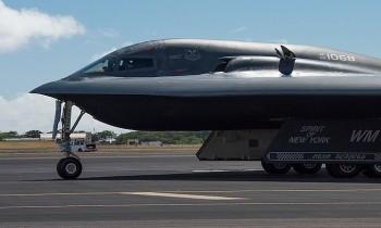 Chiến đấu cơ 2 tỷ USD của Hoa Kỳ gặp sự cố khi đáp xuống căn cứ Whiteman