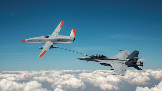 Boeing thử nghiệm UAV tiếp nhiên liệu trên không cho chiến đấu cơ