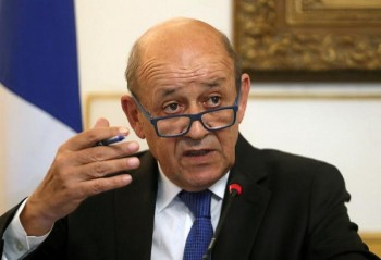 Tổ chức họp báo sau vụ vuột mất hợp đồng tàu ngầm thế kỷ, Ngoại trưởng Pháp nói gì?
