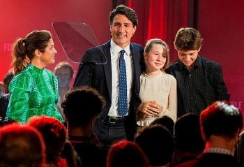 Thủ tướng Canada tái đắc cử nhiệm kỳ 3
