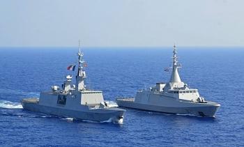 Hải quân Ai Cập và Pháp tổ chức tập trận chung ở Địa Trung Hải