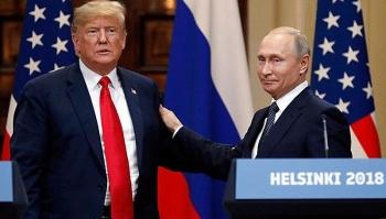 Tổng thống Putin chúc người đồng cấp Mỹ hồi phục nhanh chóng