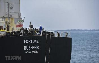 Tàu Iran chở hơn 230.000 thùng xăng tới hỗ trợ Venezuela giải tỏa áp lực