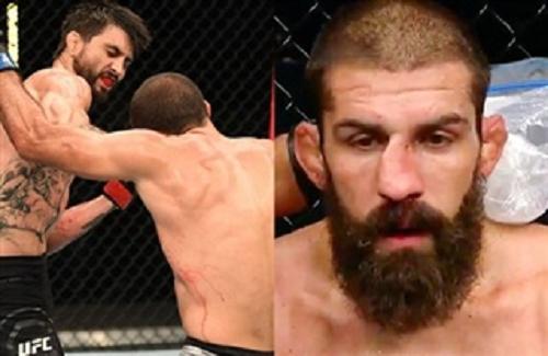 Video: Bị đối thủ đấm lệch mũi, võ sĩ vẫn kiên cường thi đấu