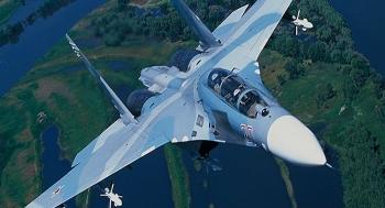 Video: Tiêm kích Su-27 của Nga xuất kích chặn 4 máy bay quân sự Anh trên Biển Đen