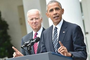 Cựu Tổng thống Obama thân chinh tới bang chiến địa vận động cho ông Biden