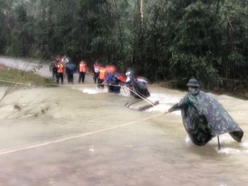 Huy động gần 1.000 người tìm kiếm, cứu nạn tại khu vực thủy điện Rào Trăng 3