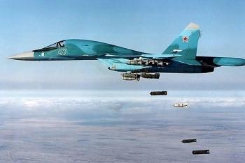 Nga mở đợt không kích dữ dội, hơn 30 tay súng phiến quân bỏ mạng