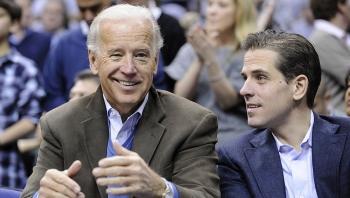 Chiếc laptop con trai ứng viên tổng thống Mỹ Joe Biden đã vào tay FBI