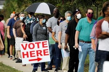 Số lượng cử tri đi bỏ phiếu sớm ở Mỹ cao kỷ lục