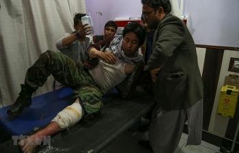 IS thừa nhận đánh bom tại một trung tâm giáo dục của Afghanistan khiến 24 người chết