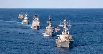 40 nghìn quân Mỹ - Nhật dàn đội hình hùng hậu tập trận đổ bộ trên Thái Bình Dương