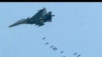 Nga và SAA dùng hơn 20 máy bay đồng loạt oanh tạc dữ dội Sa mạc Trắng