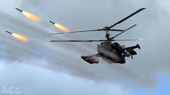 Trực thăng 'cá sấu' Ka-52 lần đầu khai hỏa với tên lửa chống tăng Vikhr-1 đầy uy lực