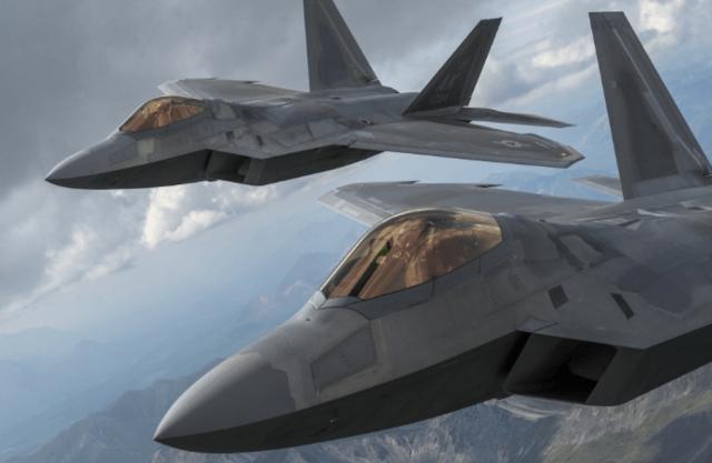 Mỹ đồng ý bán chiến đấu cơ tàng hình F-22 và loạt bom dẫn đường cho Israel