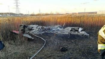 Nga: Trục trặc động cơ, máy bay tư nhân rơi rồi cháy trụi, hai người thiệt mạng