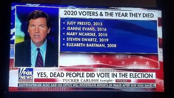 Fox News công bố danh sách người chết