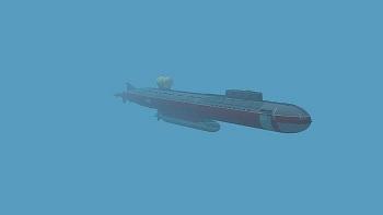 Tàu ngầm Belgorod của Nga giữ kỷ lục đồ sộ nhất thế giới với chiều dài 178 mét