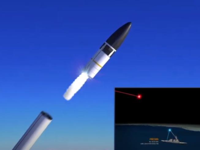 Video: Tàu chiến Mỹ diệt thành công tên lửa liên lục địa ngoài bầu khí quyển