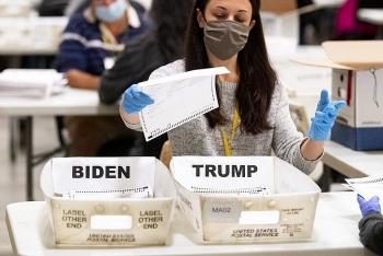 Thêm hơn 3.000 phiếu chưa kiểm đếm đã được phát hiện ở hai hạt thuộc bang Georgia