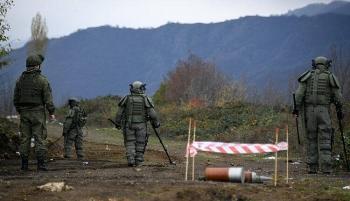 Binh sĩ gìn giữ hòa bình của Nga bị thương do nổ mìn, Liên hợp quốc nói sẵn sàng hợp tác với Moscow