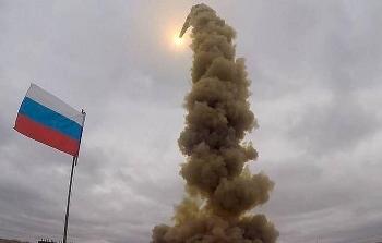 Hàng không vũ trụ Nga thử thành công tên lửa đạn đạo mới