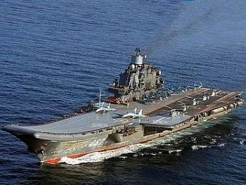 Tàu sân bay Kuznetsov của Nga liên tục hỏng hóc, có lần còn chết máy giữa vịnh