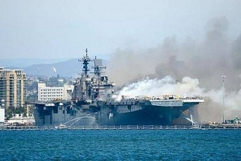 Hải quân Mỹ quyết định bỏ luôn tàu chiến tỷ USD vì chi phí sửa chữa quá tốn kém, thời gian mất tới 7 năm